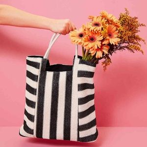 Stylish striped tote from Kelly & Katie / DSW